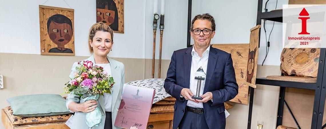 Innovationspreis 2021 CLARISSAKORK