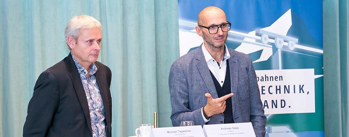 Michael Tagwerker und Andreas Gapp gaben einen Ausblick auf die kommende Wintersaison und beziehen Stellung zu dem vom Bund präsentierten Winter-Sicherheitskonzept 2021/22.