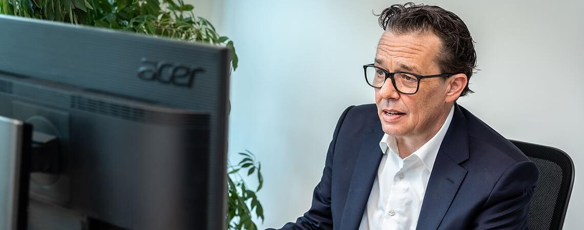 Präsident Hans Peter Metzler