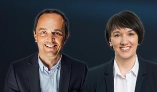 Hannes Jochum und Kerstin Biedermann-Smith