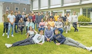 Ausländische Studierende der FH Vorarlberg.