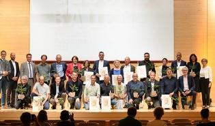 Gewinner:innen des Vorarlberger Holzbaupreises 2021.