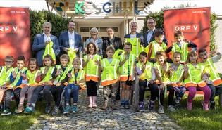 """Vorarlberger Erstklässlerinnen und Erstklässler sind """"Sicher unterwegs"""""""