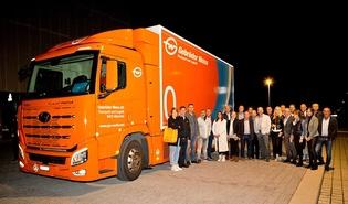 Die Mitglieder der Fachgruppe Güterbeförderungsgewerbe der Wirtschaftskammer Vorarlberg trafen sich vergangenen Mittwoch zur Jahrestagung – Themen im Fokus: der akute Fahrermangel und der anstehende Mobilitätsumbruch.